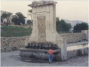 fontana dei nove cannoli