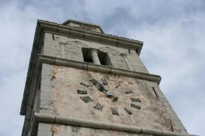 Torre campanaria della chiesa di Monrupino