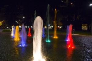 Quando l'acqua diventa colore