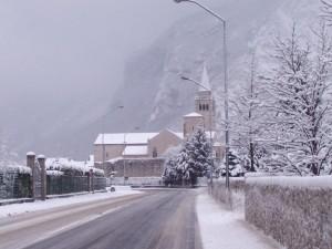 il Duomo sotto la neve