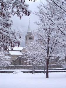 il Duomo sotto la neve 2