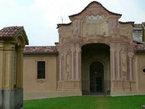 facciata della chiesa di s.gallo