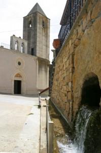 Fontana e Chiesa di San Valentino