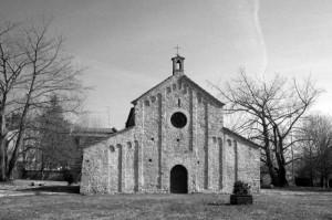 Pieve di Santa Maria nella malinconia invernale