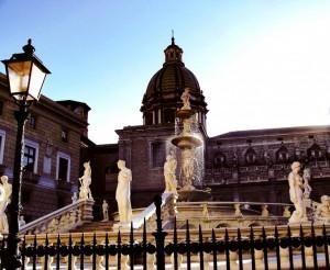 Fontana Pretoria e S.Giuseppe dei Teatini