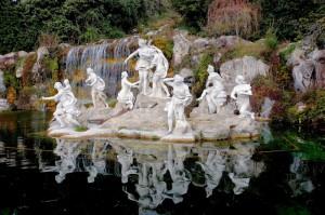 Reggia di Caserta Fontana di Diana e Atteone