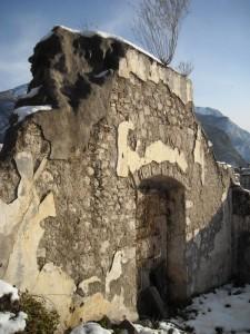 Resti della chiesa di Santa Chiara