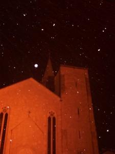 Fitta nevicata notturna