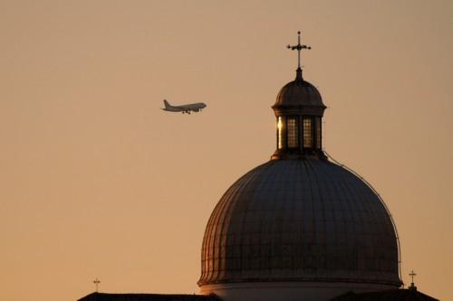 Venezia - San Geremia, tramonto al volo