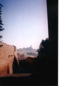 Pomeriggio d'inverno. San Pietro a Tuscania.