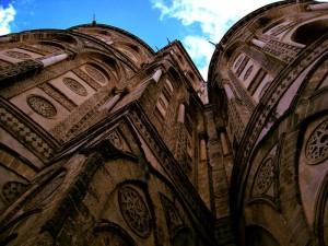 Dietro l'Abside del Duomo di Monreale
