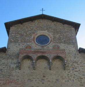 Chiesa della Beata, particolare della facciata