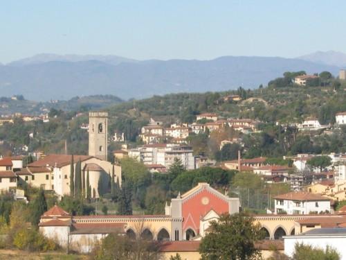 Lastra a Signa - San Martino visto da Calcinaia