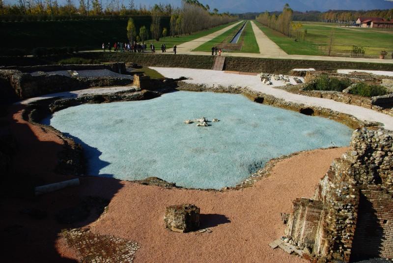 ''Prospettiva verso la fontana'' - Venaria Reale