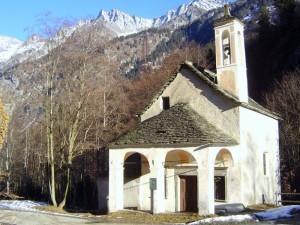 chiesa vicino agli orridi di uriezzo