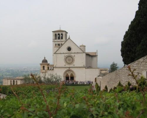 Assisi - la chiesa di S.Francesco