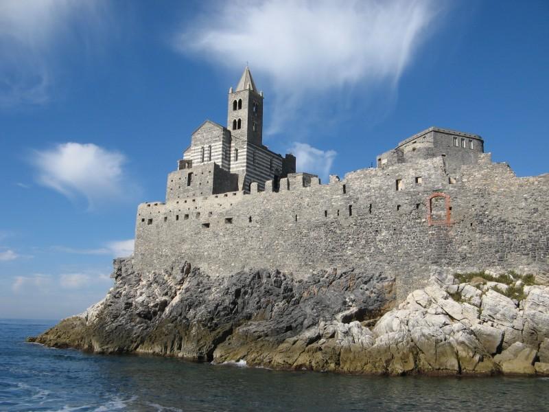 ''la chiesa di Portovenere'' - Portovenere