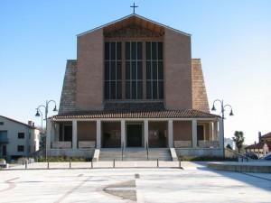 L'imponente Chiesa di Mussolente