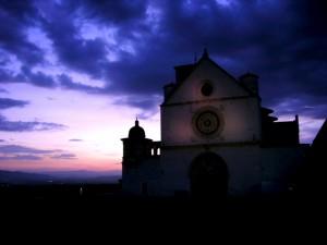 San Francesco al crepuscolo