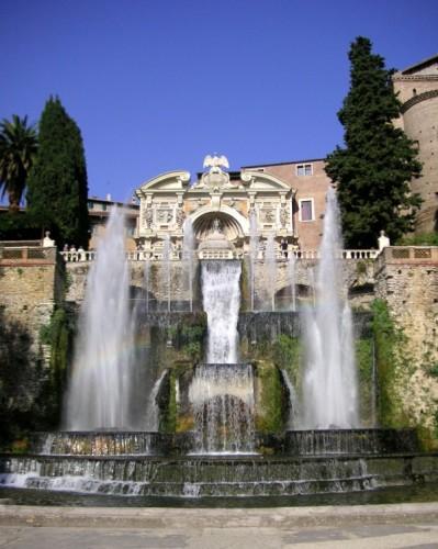 """Roma - Villa d'Este, la fontana """"musicista"""""""