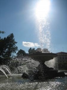 dialoghi di luce e acqua