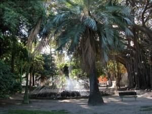 Palermo - Fontana di Villa Garibaldi in Piazza Marina