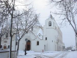 S.Antonio sotto la neve
