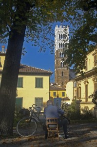 Il campanile e il pittore