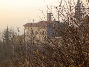 altra  veduta della chiesa di san colombano