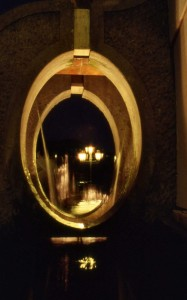 NEMI Fontana Luminosa a lama D'acqua