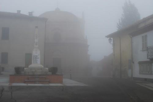 Rocca d'Arazzo - Nebbia nel Villaggio