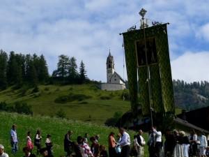 La processione di ringraziamento a Ferragosto