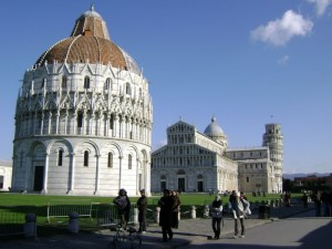 Piazza dei Miracoli con Duomo