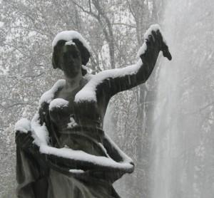 Nuda sotto la neve