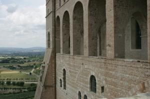 Loggiato della Basilica di S.Francesco