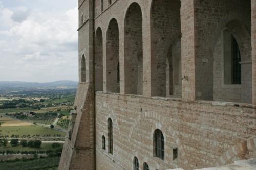 Assisi - Loggiato della Basilica di S.Francesco