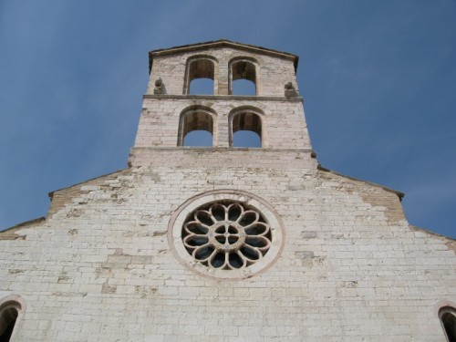 Spello - Chiesa di S. Claudio - Rosone