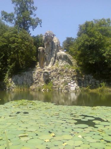 Vaglia - Fontana del Gigante dell'Appennino