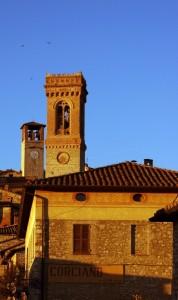 Corciano - Santa Maria Assunta e Torre dell'Orologio