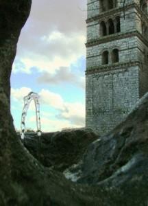 Fontanella con monumento