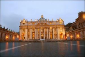 San Pietro, la facciata