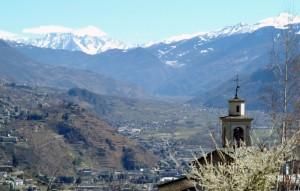 La Chiesa di Sant'Anna sopra Sondrio