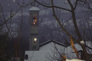 campanile della chiesa di san pietro