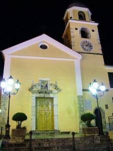 Facciata della Chiesa di Sant'Agata Irpina
