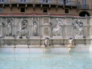 Fontana in Piazza del Campo