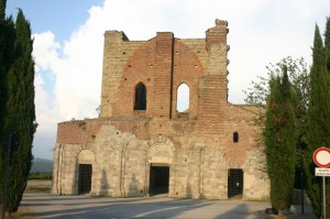 San Galgano, la chiesa senza tetto