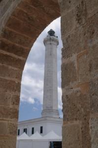 Il Santuario di Leuca - Navata e Faro