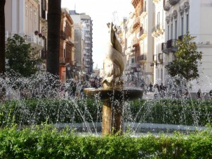 Fontana in Piazza Maria Immacolata a Taranto
