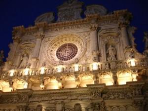 Lecce, Santa Croce….il barocco da il meglio di se