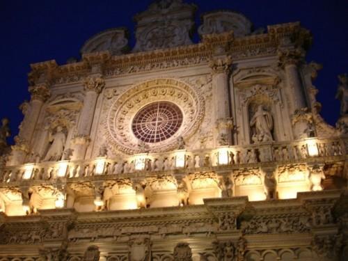 Lecce - Lecce, Santa Croce....il barocco da il meglio di se